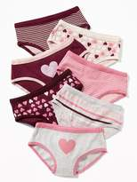 Old Navy Patterned Underwear 7-Pack for Toddler Girls