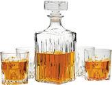Circle Glass Excalibur 5-pc. Whiskey Decanter Set