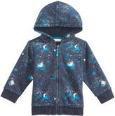 First Impressions Galaxy-Print Zip-Up Hoodie, Baby Boys, Created for Macy's