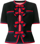 Gucci cropped knitted cardigan