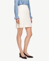 Ann Taylor Petite Side Pocket Wool Blend Skirt