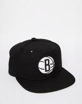 Mitchell & Ness Midas Brooklyn Nets Snapback Cap - Black