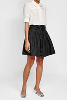 Marc Jacobs Cotton Skirt with Tie Belt