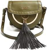 Balmain Domaine 18 leather cross-body bag