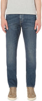 Michael Kors Faded Slim-fit Tapered Jeans