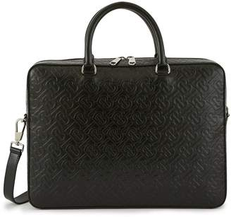 Burberry Ainsworth leather laptop bag