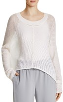 DKNY Pure Diagonal Stitch Trapeze Sweater