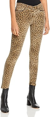 Frame Le Skinny Jeans in Sand Leopard