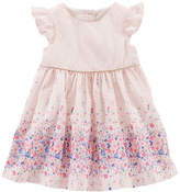 Osh Kosh Oshkosh Floral Poplin Dress - Baby Girls