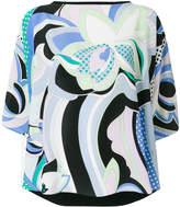 Emilio Pucci signature printed blouse