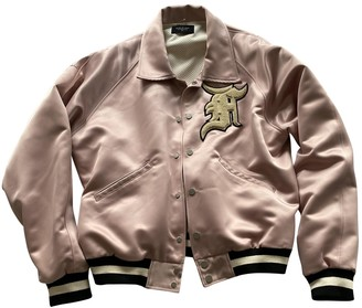 Fear Of God Pink Cotton Jacket for Women