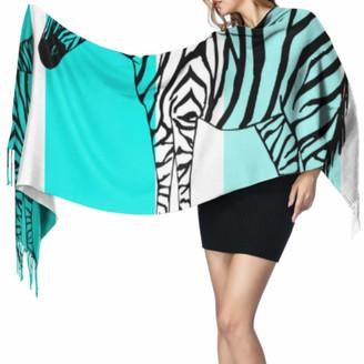 Yushg Fashion Creative Animal Leopard Flower Womans Shawls Wraps Womens Shawl Wrap Girls Scarf Lightweight 77x27inch/196x68cm Large Soft Pashmina Extra Warm