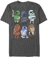Star Wars Men's Doodles Graphic T-Shirt