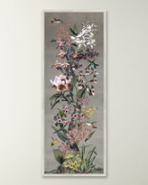 Wendover Art Group Silver Orchid Panel I Wall Art