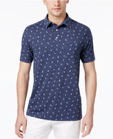 Club Room Men's Knot-Print Polo, Only at Macy's