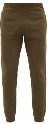 Sunspel Cotton Loop-back Jersey Track Pants - Khaki