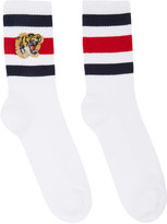 Gucci White Little William Socks