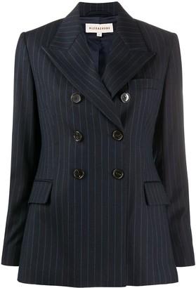 ALEXACHUNG E.Vill Boy double-brested blazer