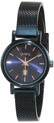 OWL Women's Analogue Japanese Quartz Watch with Stainless Steel Strap A610MBL
