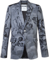 Moschino blazer with angels