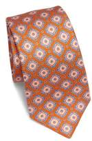 Kiton Large Medallion Silk Tie