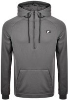Nike Half Zip Modern Hoodie Grey