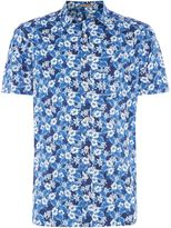 Howick Men's Glade Floral Short Sleeve Shirt