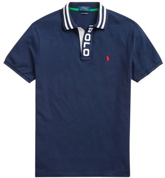 Polo Ralph Lauren Custom Slim-Fit Mesh Polo