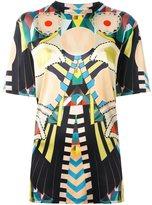 Givenchy 'Crazy Cleopatra' T-shirt - women - Silk/Spandex/Elastane - 36
