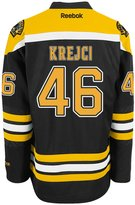 Reebok David Krejci Boston Bruins Home Jersey