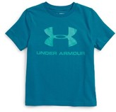 Under Armour Boy's Sportstyle Logo Heatgear T-Shirt