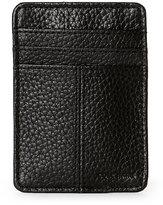 Cole Haan Black Front-Pocket Money Clip Wallet