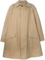 Raf Simons A-line raincoat