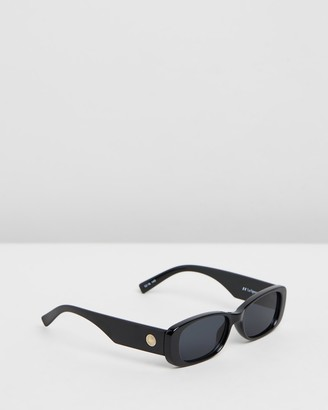 Le Specs Women's Black Rectangle - Unreal - Size One Size at The Iconic