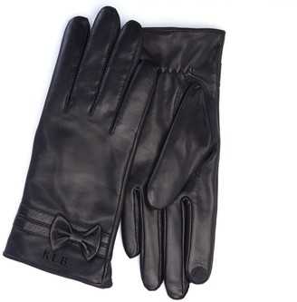 Royce Leather Royce New York Personalized Ladies Leather Gloves