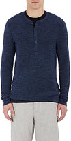 Rag & Bone Men's Garrett Henley-NAVY