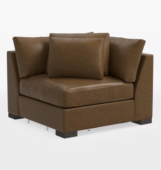 Rejuvenation Wrenton Classic Leather Sectional Corner