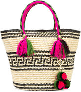 Yosuzi Kolet tassel rope tote - women - Cotton/Straw - One Size