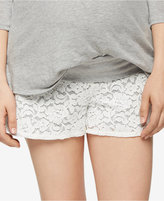 A Pea in the Pod Maternity Lace Shorts