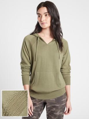 Athleta Evergreen Hoodie Sweater