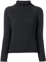 Odeeh ribbed roll neck jumper - women - Virgin Wool - 34