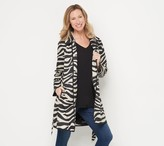 Dennis Basso Choice of Print or Solid Water Resistant Trench Jacket