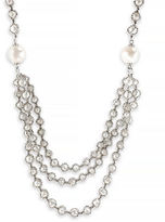 Effy Sterling Silver Fresh Water Necklace