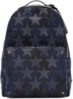 Valentino Navy Camustars Backpack