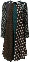 Lanvin contrast panel dress - women - Silk - 38