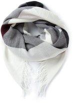 Burberry Haymarket check scarf
