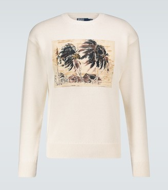 Polo Ralph Lauren Exclusive to Mytheresa - Printed long-sleeved T-shirt