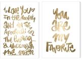 Oliver Gal Loving You (Canvas) (Set of 2)