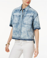 True Religion Denim High-Low Shirt