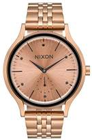 Nixon Women's Quartz Watch Analogue Display and Stainless Steel Strap A9942046-00